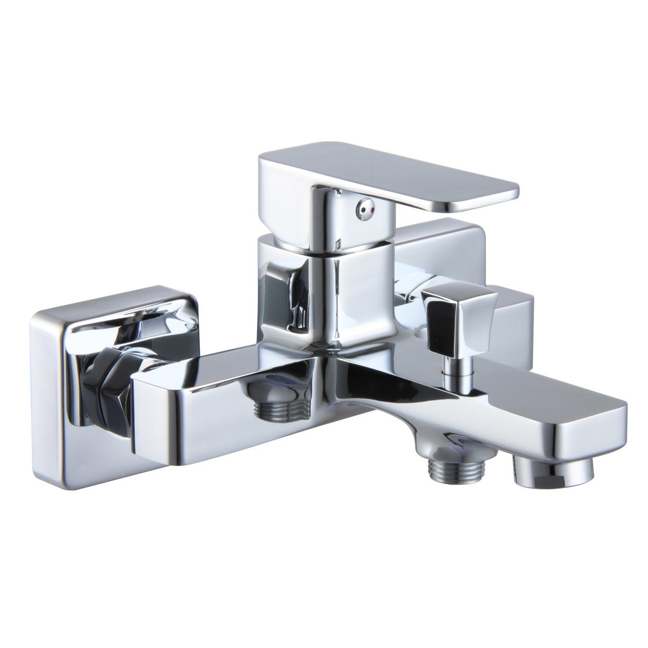 Змішувач для ванни BILOVEC, хром, 35 мм