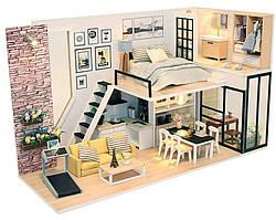 Интерьерный 3D конструктор DIY mini house MD 2505 М038