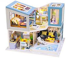 Интерьерный 3D конструктор DIY mini house MD 2506 М910