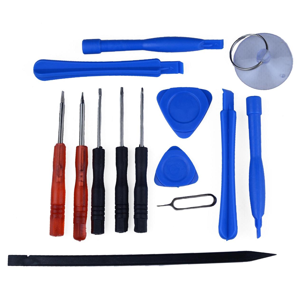 Набор инструментов для ремонта мобильных телефонов 14 в 1 (НИ-1030-4)