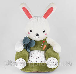 Кресло мягкое детское Зайчик игрушка 48х47х60 см B 34629