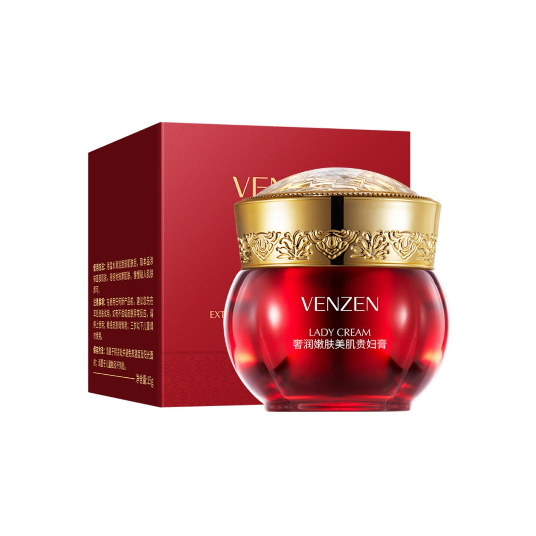 Крем для обличчя Venzen Luxury Moisturizing Skin Beauty Lady Cream