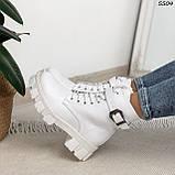 Ботиночки Материал эко-кожа Сезон зима Внутри эко-мех В5504, фото 4