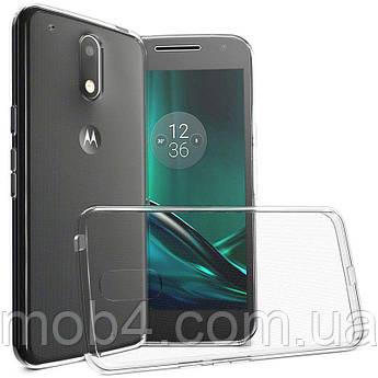 Прозорий силіконовий чохол для Motorola Moto G4