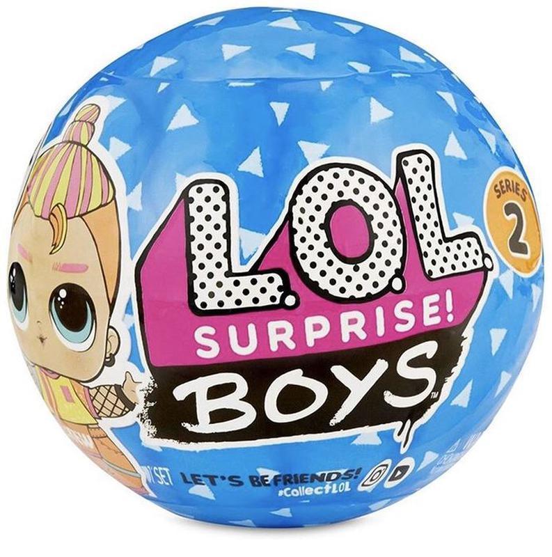 LOL Boys 2 Лялька Хлопчик Лол 2 серія ( Кукла ЛОЛ Сюрприз Мальчики Шар )