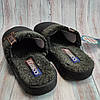 Подростковые тапочки тапки теплые комнатные для дома для мальчика домашние черный 40р 26см, фото 3