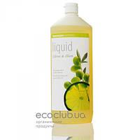 Мыло жидкое бактерицидное с цитрусовым и оливковым маслами Citrus-Olive органическое Sodasan 1л