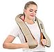 Роликовий масажер для спини і шиї Massager of neck kneading, фото 3