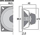 Monacor SPH-30X/8SW , фото 4