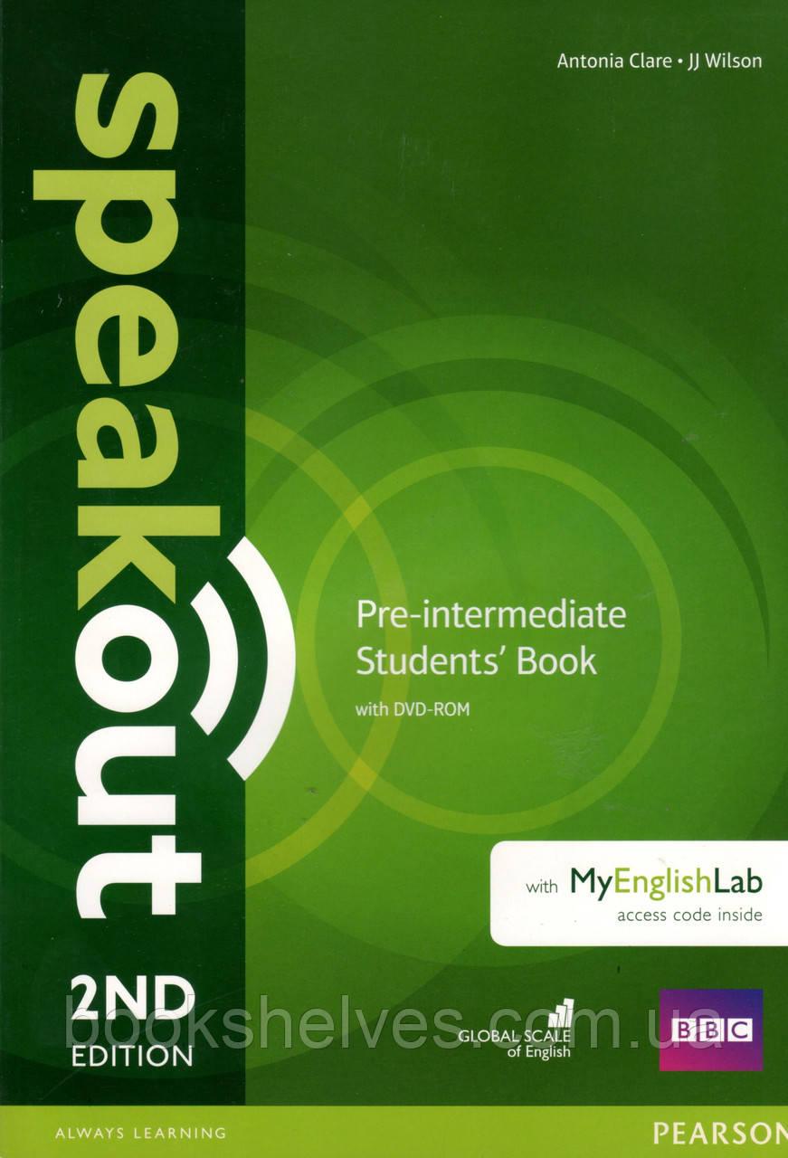 Speak Out 2nd Pre-Intermediate Student's book +DVD +online workbook