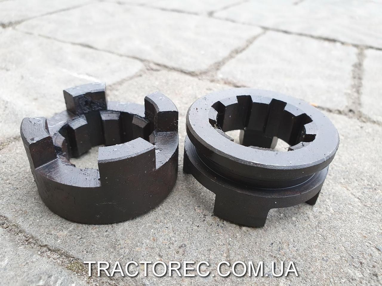 Муфта блокировки колес или осей в сборе для мототрактора, мотоблока, минитрактора Булат, Зубр, Форте, Файтер