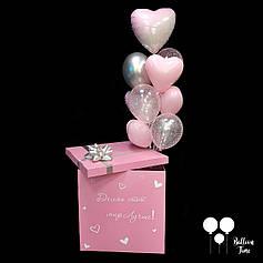 Нежная коробка - сюрприз для девушки