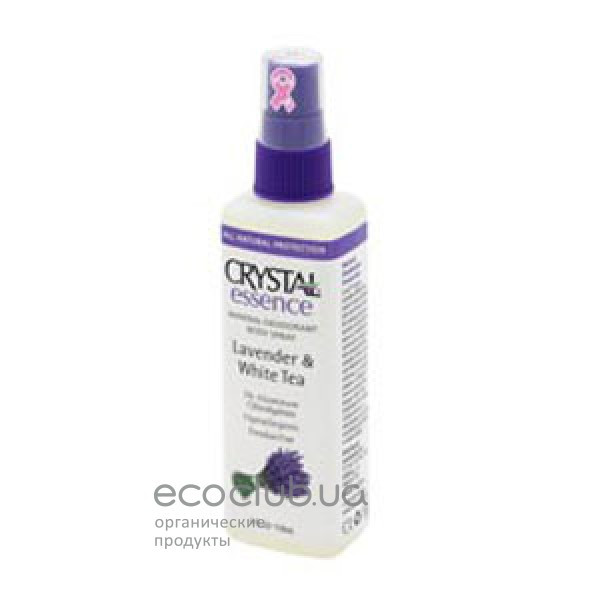 Дезодорант Essence Lavender&White Tea Spray Crystal 118мл