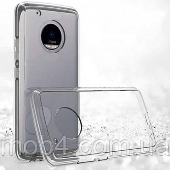 Прозорий силіконовий чохол для Motorola Moto G5 plus
