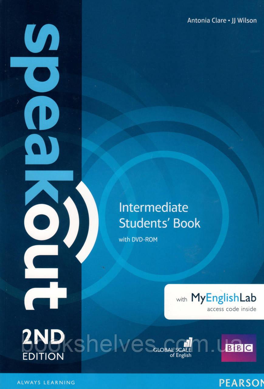 Speak Out 2nd Intermediate student's book+DVD+ online workbook