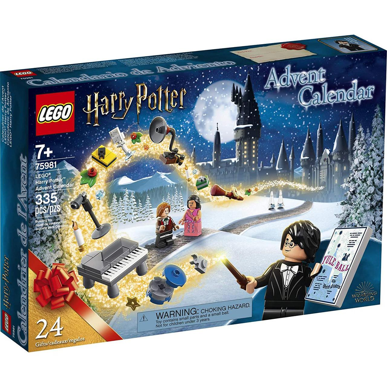 Конструктор LEGO 75981Harry Potter Новорічний календар (Новогодний адвент календарь лего Гарри Поттер)