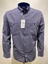 Сорочка чоловіча, прямого покрою, з довгим рукавом Birindelli IND-01-1777 100% бавовна XL(Р)