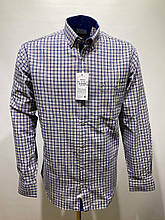 Сорочка чоловіча, прямого покрою, з довгим рукавом Birindelli IND-01-1688 100% бавовна XL(Р)