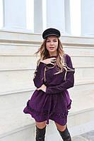 Женское платье люрекс с пояском, фото 1