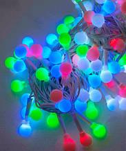 Гирлянда шарики, ретро лампы