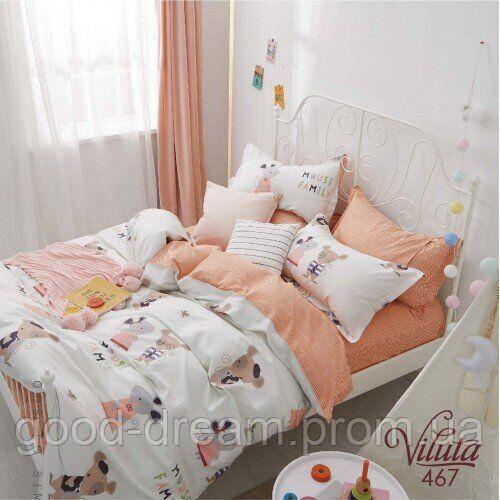467 Комплект постельного белья детский Сатин Viluta™