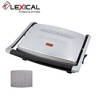 Гриль-пресс электрический LEXICAL LSM-2506  с гранитным покрытием 2000W, фото 1