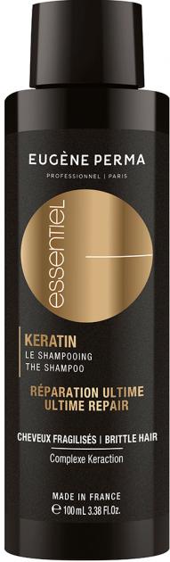 Шампунь з кератином для пошкодженого, ламкого волосся Eugene Perma Essentiel Keratin Ultime Repair Shampoo