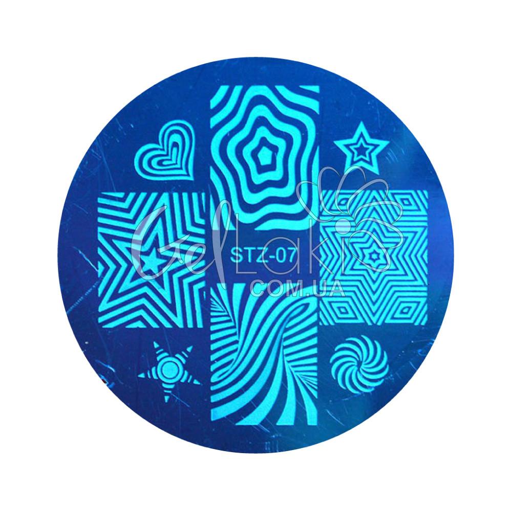 Диск для стемпинга круглый STZ-07