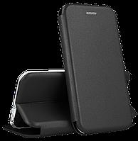 Чехол книжка для Huawei P Smart 2019 чёрный