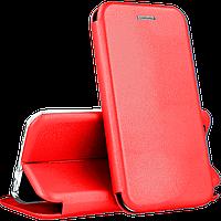 Чехол книжка для Samsung A50 A505 красный