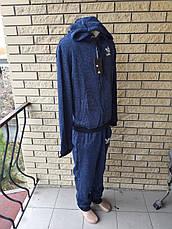 Спортивный костюм мужской утепленный на флисе реплика ADIDAS, фото 3