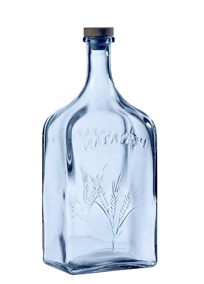 Бутылка стеклянная с корковой пробкой Магарыч3000мл