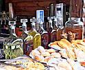 Бутылка стеклянная с корковой пробкой Магарыч3000мл, фото 2