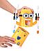Диспенсер для зубной пасты Миньон и держатель зубных щеток дозатор Желтый, фото 2