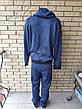 Спортивный костюм мужской утепленный на флисе реплика ADIDAS, фото 4