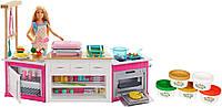 Кукольный набор Мега Кухня и Кукла Барби и аксессуары Готовим вместе Barbie Ultimate Kitchen