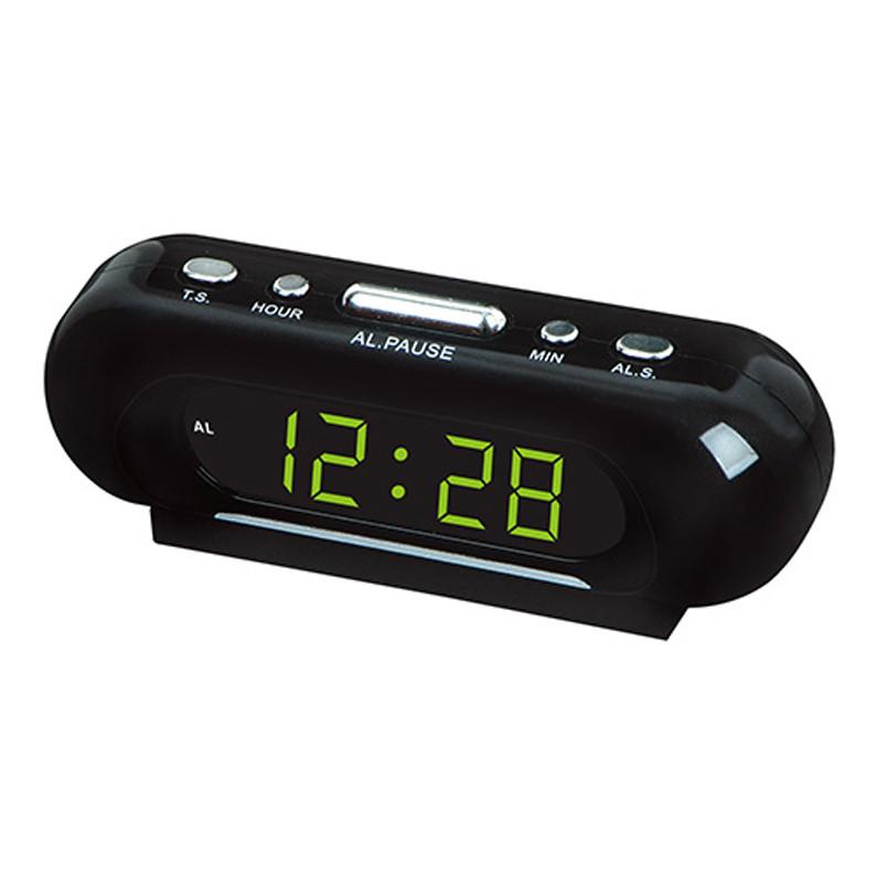 Часы сетевые VST 716-2 зеленые