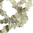Сколы Кварца Крупные, Размер 8-12*4-8 мм, около 85 см нить, Бусины Натуральный Камень, Рукоделие, фото 2