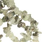 Сколы Кварца Крупные, Размер 8-12*4-8 мм, около 85 см нить, Бусины Натуральный Камень, Рукоделие, фото 3