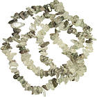 Сколы Кварца Крупные, Размер 8-12*4-8 мм, около 85 см нить, Бусины Натуральный Камень, Рукоделие, фото 7