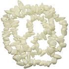 Сколы Агат Белый, Крошка Крупная, Размер 8-12*4-8 мм, Около 80 см нить, Бусины Натуральный Камень, Рукоделие., фото 7
