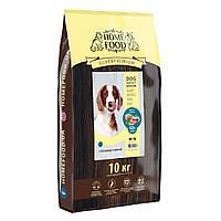 Home Food (Сухой гипоаллергенный корм для собак средних пород форель рис и овощи 10 кг)