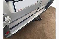 Накладка на задний бампер  Peugeot Boxer (Боксер) 06+ нерж. Турция