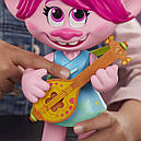Кукла тролли Розочка поющая DreamWorks Trolls World Tour Pop-to-Rock Poppy, фото 3
