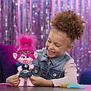 Кукла тролли Розочка поющая DreamWorks Trolls World Tour Pop-to-Rock Poppy, фото 8