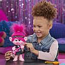Кукла тролли Розочка поющая DreamWorks Trolls World Tour Pop-to-Rock Poppy, фото 10