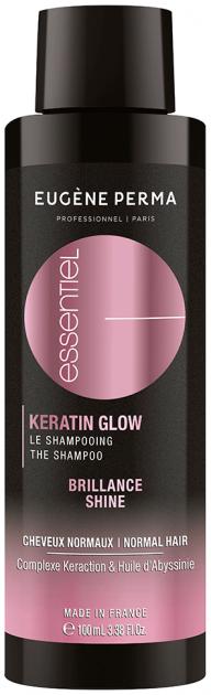 Шампунь с кератином Бриллиантовое сияние Eugene Perma Essentiel Keratin Glow Reparation Brilliance Shampoo