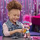 Кукла тролли Розочка поющая DreamWorks Trolls World Tour Pop-to-Rock Poppy, фото 7
