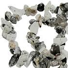 Сколы Кварц Волосатик Крупные, Размер 4-12*2-7 мм, Около 85 см нить, Бусины Натуральный Камень, Рукоделие, фото 5