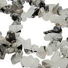 Сколы Кварц Волосатик Крупные, Размер 4-12*2-7 мм, Около 85 см нить, Бусины Натуральный Камень, Рукоделие, фото 6